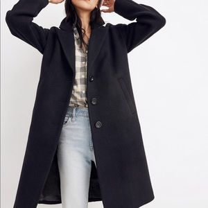 New madewell Bergen cocoon coat size small